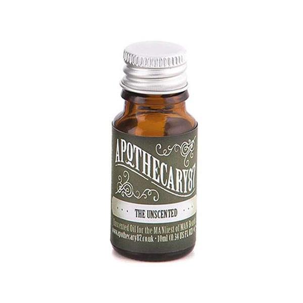 Apothecary 87 Beard Oil Unscented 10 ml Skaggolja produkt