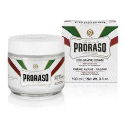 Sensitive Pre Shave Cream 100 ml produkt + forpackning