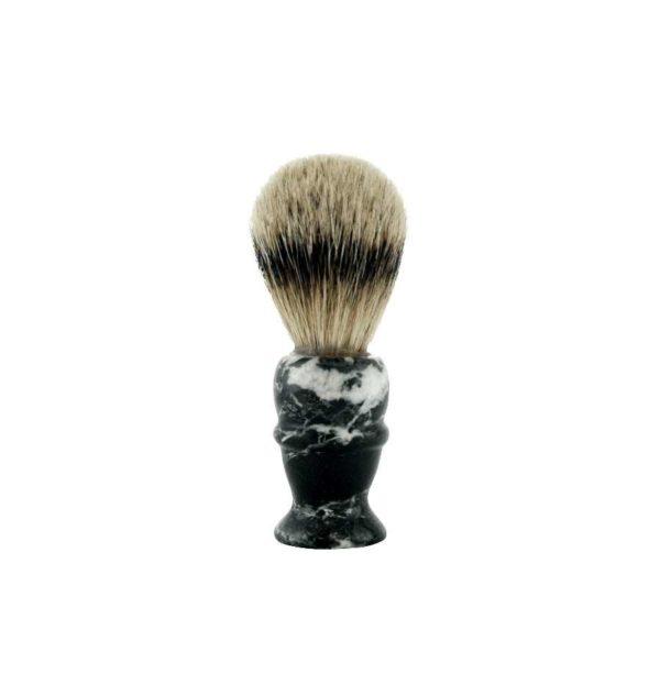 col-conk-pure-badger-shaving-brush-black-marble-rakborste