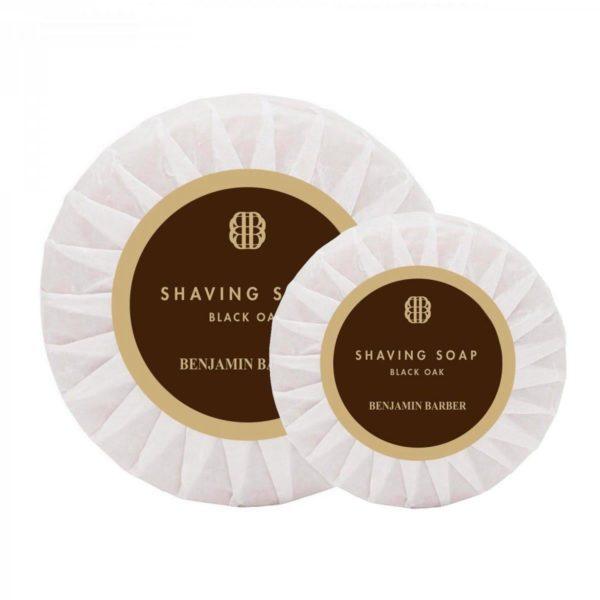 Benjamin Barber Shaving Soap Black Oak50g