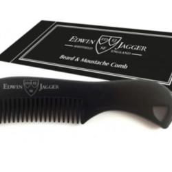 Edwin Jagger Beard & Moustache comb Black
