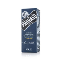 Proraso Beard Oil Azur Lime 30ml forpackning